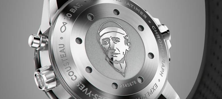 Лазерная гравировка на корпусе часов