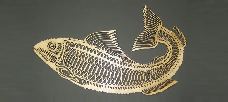 Лазерная гравировка - орнамент